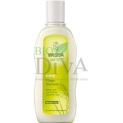 Șampon pentru păr normal cu mei Weleda