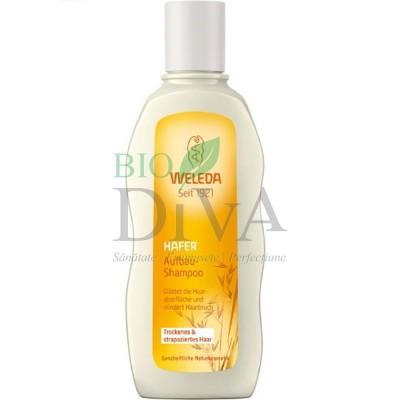 Șampon regenerant pentru păr uscat sau deteriorat cu ovăz Weleda
