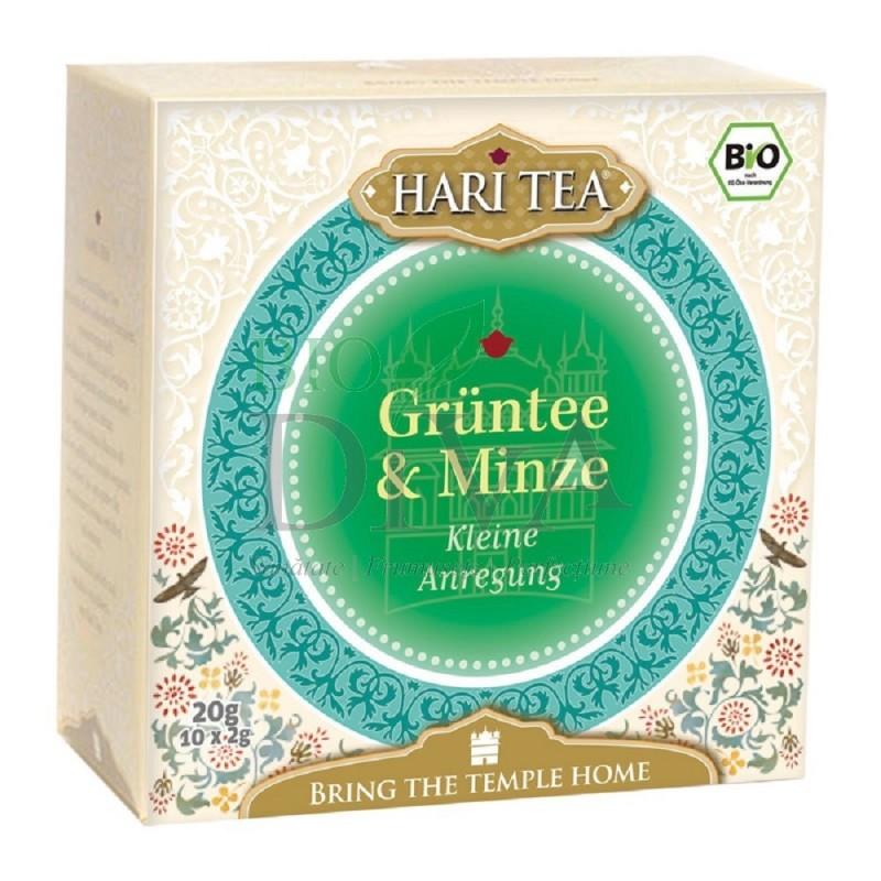 Ceai cu mentă și ceai verde Inner Flow Hari Tea