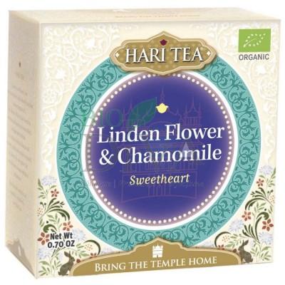 Ceai cu tei și mușețel Sweetheart Hari Tea
