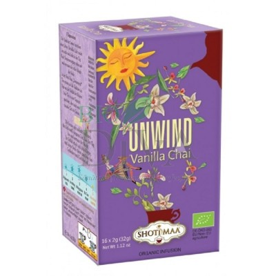 Ceai cu vanilie Sundial Unwind Shoti Maa