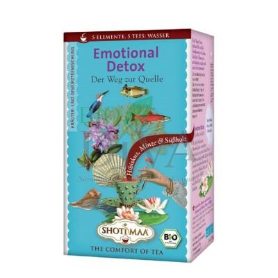 Ceai cu hibiskus și mentă Water Emotional Detox Shoti Maa