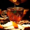 Ceai cu fenicul, cardamon și portocale