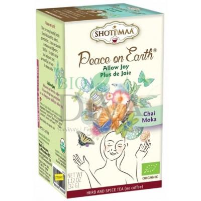 Ceai cu cicoare, lemn dulce și cacao Peace on Earth Allow Joy Shoti Maa