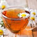 Ceai cu lime, mușețel și măceșe
