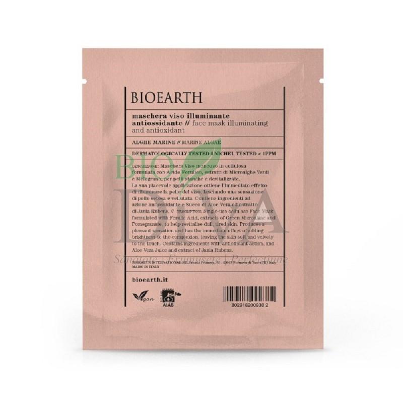Mască pentru ten iluminatoate antioxidantă cu alge Bioearth