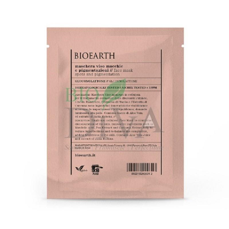 Mască de ten pentru pete pigmentare Bioearth