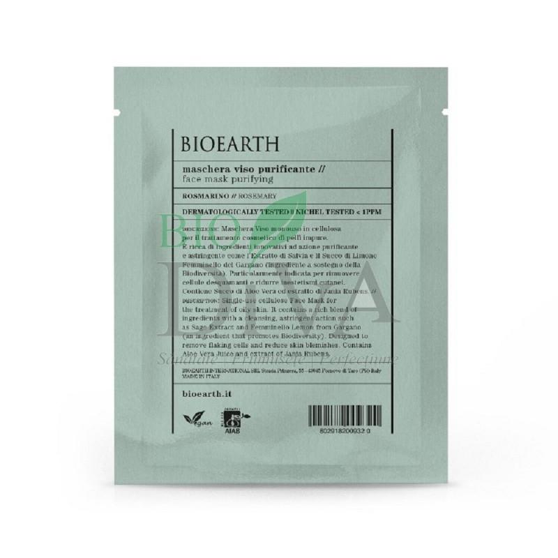 Mască pentru ten purificatoare cu rozmarin Bioearth