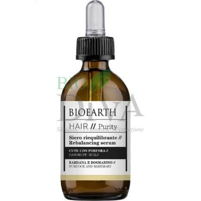 Ser antimătreață pentru păr gras cu rozmarin Hair Bioearth