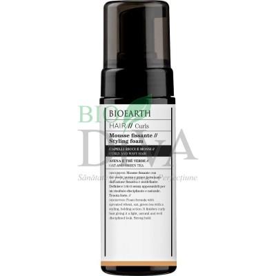 Spumă de păr cu ceai verde Hair Bioearth