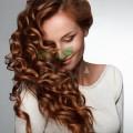 Spumă de păr cu ceai verde