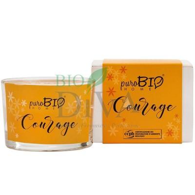 Lumânare parfumată bio Courage 02 PuroBio Home