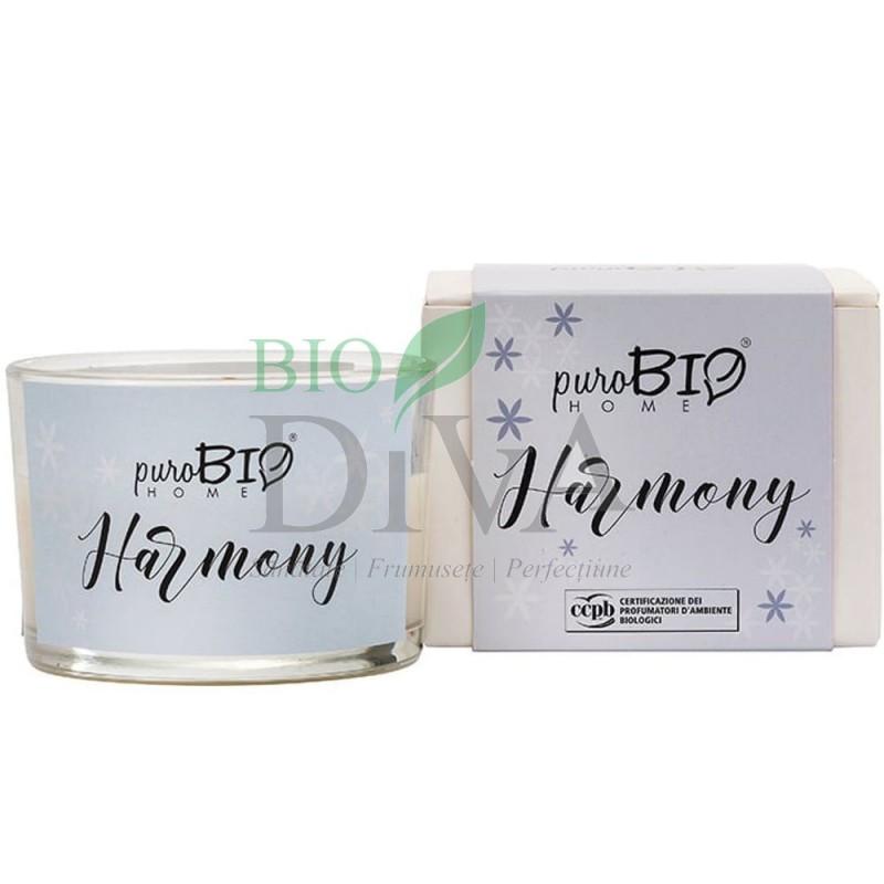 Lumânare parfumată bio Harmony 05 PuroBio Home