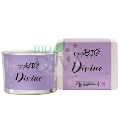 Lumânare parfumată bio Divine 08 PuroBio Home