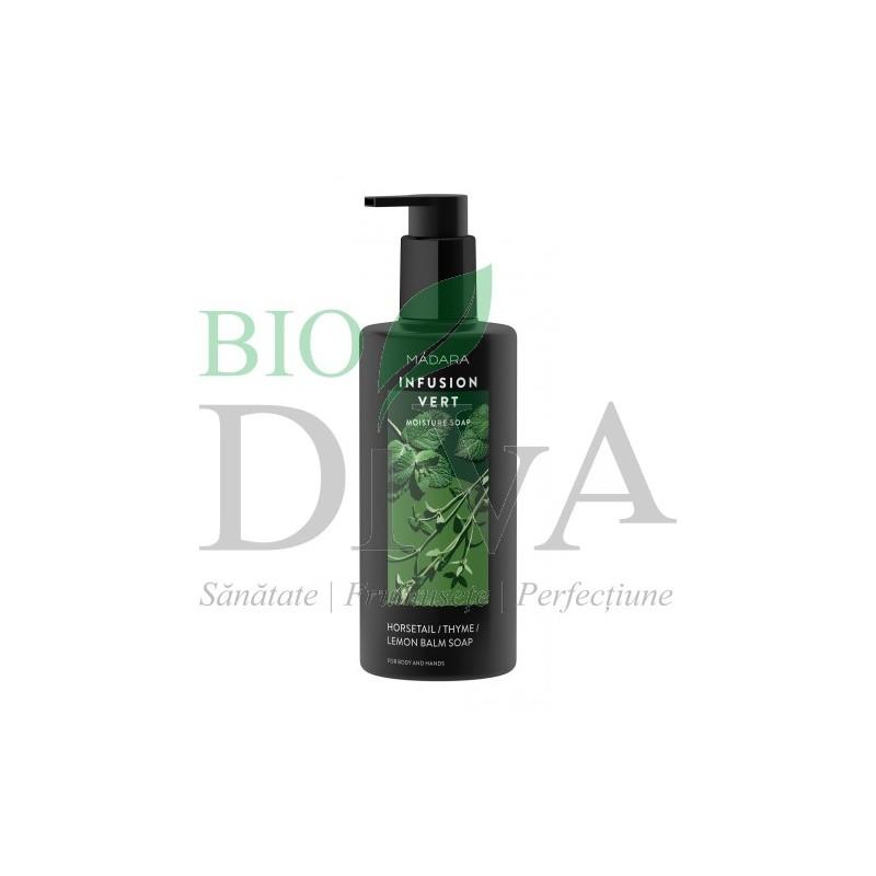 Gel de dus & sapun lichid - Infusion Vert MADARA
