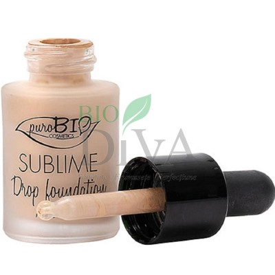 Fond de ten Ser Sublime Drop Foundation 01 PuroBio Cosmetics