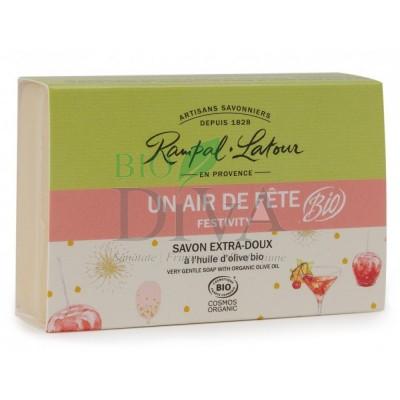 Săpun bio cu aromă dulce Un air de fete Rampal Latour