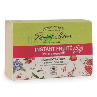 Săpun bio cu fructe roșii Instant Fruite Rampal Latour