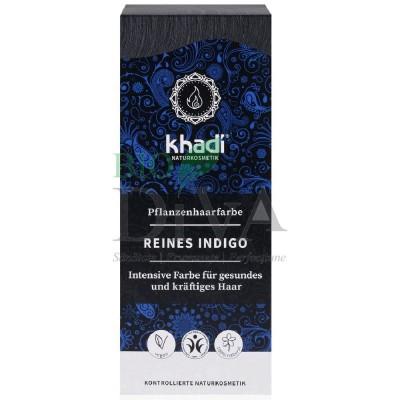 Henna vopsea de păr naturală negru - indigo KHADI