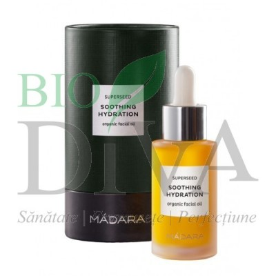 Superseed Soothing Hydration - Ulei facial hidratant MADARA