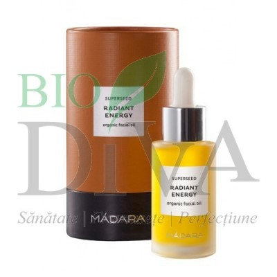Superseed Radiant Energy - Ulei facial iluminator MADARA