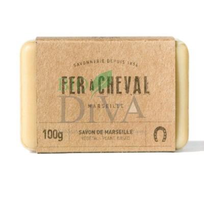 Săpun de Marsilia vegetal 100g Fer a Cheval
