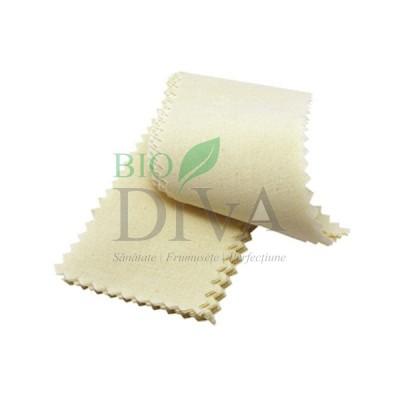 Benzi de bumbac organic pentru epilarea cu zahăr Allo'Nature