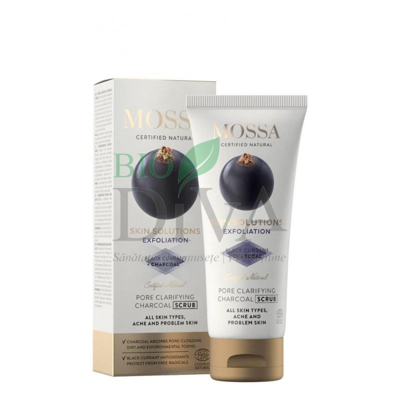 Scrub facial pentru curățarea porilor Skin Solutions Mossa