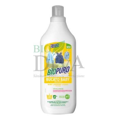 Detergent hipoalergenic pentru hăinuțele copiilor BIOPURO