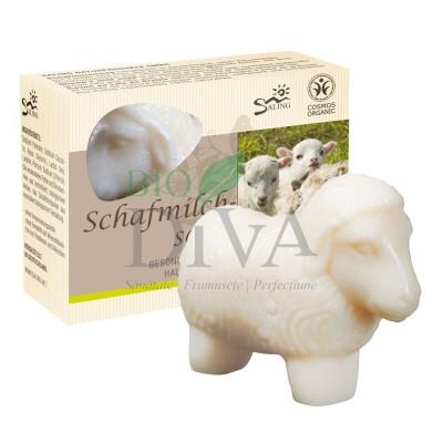 Oiță albă - săpun cremos cu lapte de oaie Saling Naturprodukte