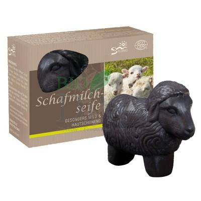 Oiță neagră - săpunul cremos cu lapte de oaie Saling Naturprodukte