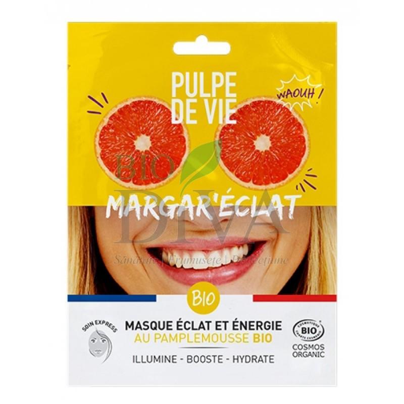 Mască energizantă iluminatoare Margar Eclat Pulpe de Vie
