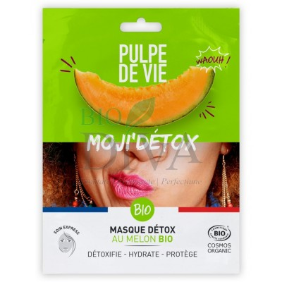 Mască detoxifiantă anti-poluare Moji'Detox Pulpe de Vie