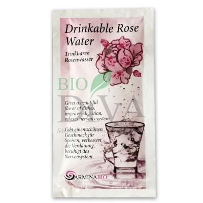 Apă de trandafir pentru băut în plic 10ml Armina