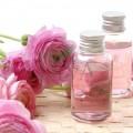 Apă de trandafir pentru băut în plic