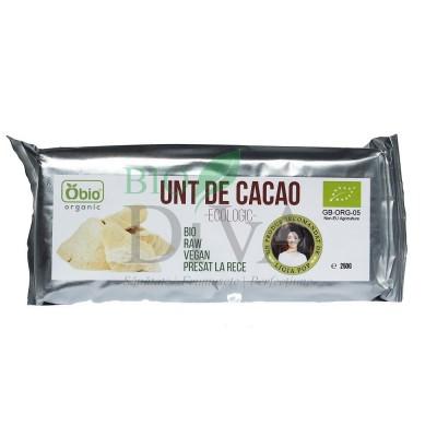 Unt de cacao raw Criollo 250g Obio