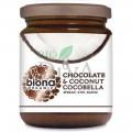 Unt de cocos cu ciocolată CocoBella bio Biona