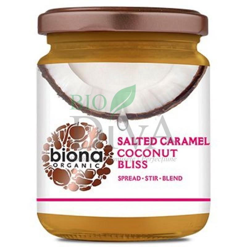 Unt de cocos salted caramel bliss bio Biona