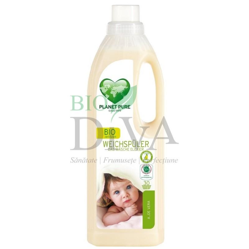 Balsam de rufe bio cu aloe vera pentru bebeluși Planet Pure