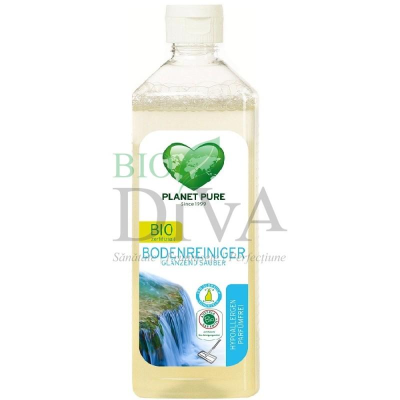 Detergent pentru pardoseli hipoalergenic fără parfum Planet Pure