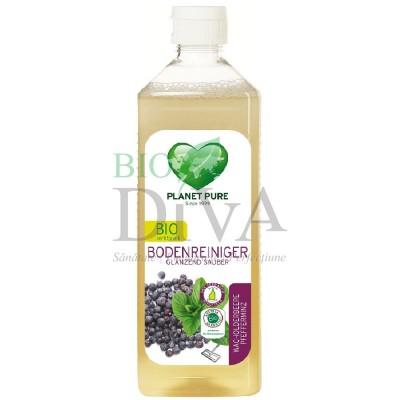 Detergent pentru pardoseli cu ienupăr și mentă Planet Pure