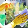 Detergent spray pentru sticlă cu mandarine și busuioc