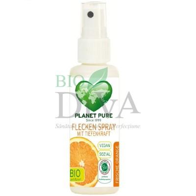 Spray pentru pete bio cu ulei de portocale Planet Pure
