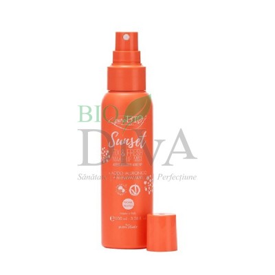 Spray fixare machiaj Sunset Fix&Fresh PuroBio Cosmetics