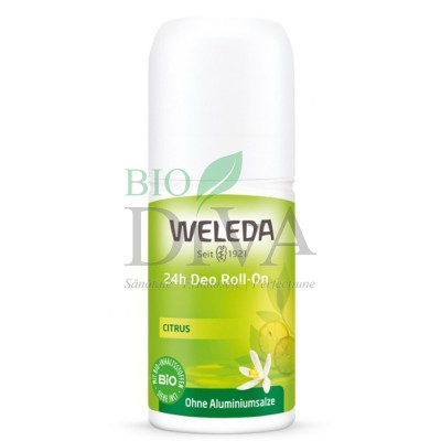 Deodorant roll-on cu citrice Weleda