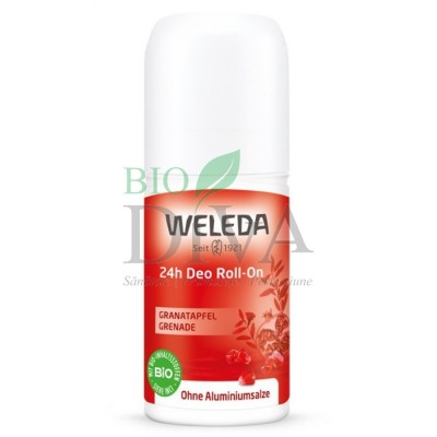 Deodorant roll-on cu rodie Weleda
