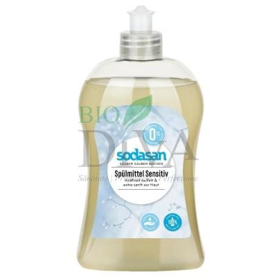 Detergent lichid ecologic sensitiv pentru vase 500ml SODASAN