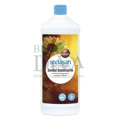 Soluție pentru pardoseli bio cu santal 1 L Sodasan
