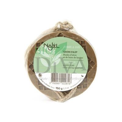 Săpun de Alep cu ambră și lemn de agar (oud) NAJEL