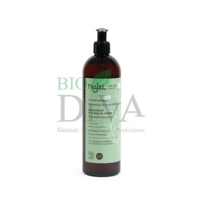 Șampon bio 2 în 1 cu săpun de Alep pentru păr normal Najel